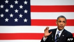 Președintele american vorbind luni la San Francisco