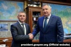 Dmitri Rogozin și Vadim Krasnoselski la Moscova