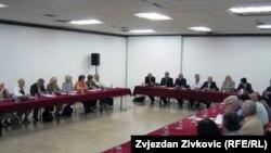 Sa konferencije o stanju u institucionalnoj kulturi, Sarajevo, 2. juni 2011
