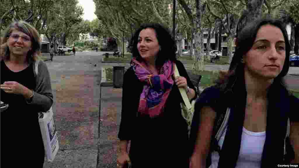 Засновниці проекту «4Plus» (зліва направо): Назік Арменакян, Анаїт Айрапетян і Ануш Бабаянян
