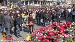 В Киеве вспоминают погибших на Евромайдане