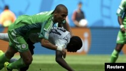 Матч Нигерия - Франция