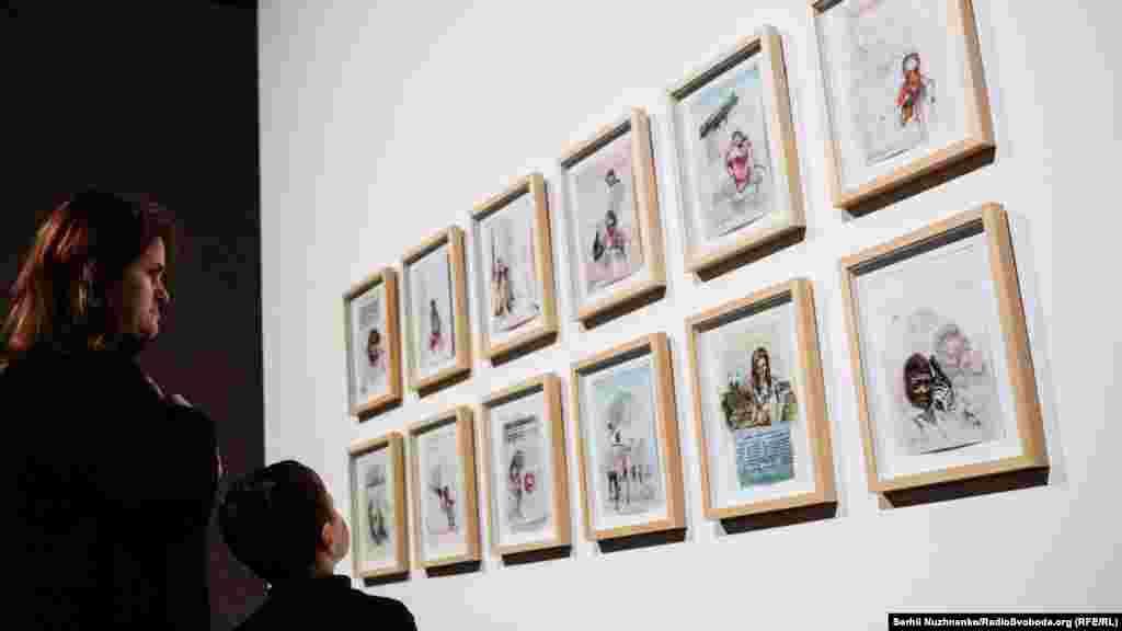 Роботи Маші Шубіной із серії «Lost& Found», 2014-2016 роки