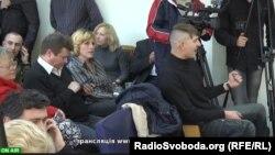 У залі засідань ОВК № 223, 1 листопада 2012