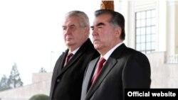 Встреча президентов Таджикистана и Чехии в Душанбе, 26 ноября 2014 года.