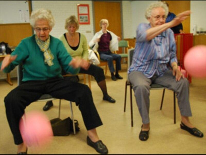 как похудеть пожилым дамам