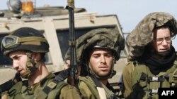 سربازان اسرائیلی در نزدیکی مرز غزه و اسرائیل