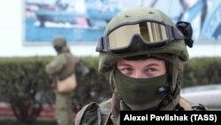 Украински војник. Илустрација