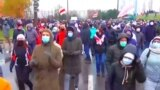 Grab: Belarus -- Sunday protest march, Minsk, 22Nov2020