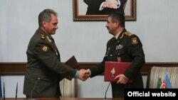 Sergey Şoyqu və Zakir Həsənov, 13 Okt, 2014