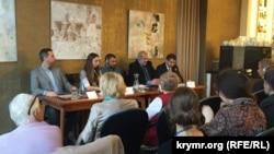 Панельная дискуссия о Крыме, Прага, Чехия, 10 октября 2017 год