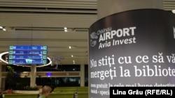 Aeroportul internațional Chișinău, decembrie 2019.