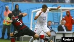 Фрагмент матча Германия - США