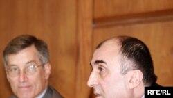 Elmar Məmmədyarov Kolumbiya Universitetində, 22 sentyabr 2009