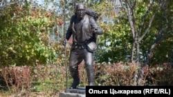 Памятник Дерсу Узала. Красный Яр. Приморский край