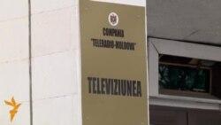 Protestatarii la Teleradio-Moldova