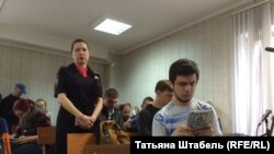 Артем Лоскутов на заседании суда