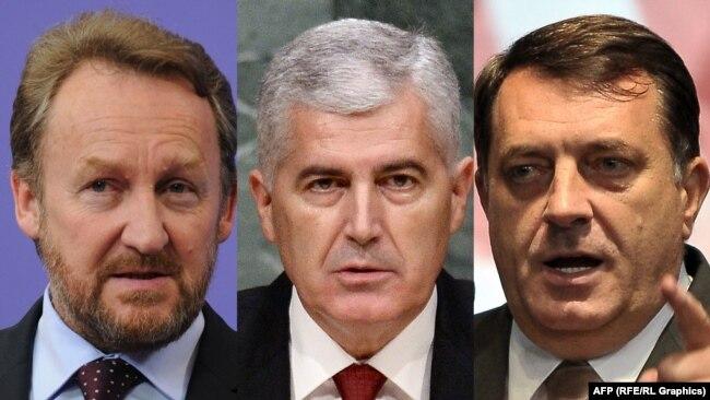 Novi šamar liderima BiH - Bakir Izetbegović, Dragan Čović i Milorad Dodik