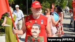 Митинг коммунистов в Севастополе, лето 2020 года
