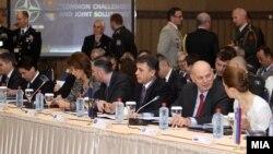 Архивска фотографија: Конференцијата на министри за одбрана на САД и Јадранската група во Скопје.