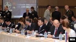 Konferenca e ministrave të Mbrotjes të vendeve anëtare të Kartës së Adriatikut, mbajtur në Shkup.