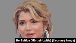 На иллюстрации — Гульнара Каримова, старшая дочь ныне покойного президента Узбекистана Ислама Каримова.
