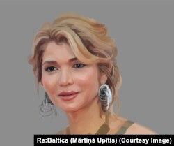 Gulnora Karimova Latviyadagi banklarga qariyb 500 million dollar yashirgani gumon etiladi
