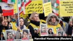 Almaniyada İrandakı etirazlara dəstək aksiyası, 6 yanvar, 2018-ci il
