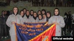 تیم بسکتبال دختران باشگاه آرارات
