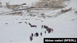 دومین جشنواره ورزشهای زمستانی در بامیان برگزار شد