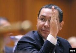 Fostul premier Victor Ponta