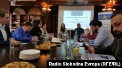 Скопје, 03.11.2016 Македонскиот центар за европско образование го презентира анкетно истражување еврометар 2016 за тајноста на гласањето во услови на страв и конспиративно размислување