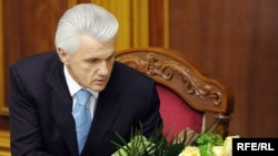 Новообраний Голова Верховної Ради Володимир Литвин. 9 грудня 2008 р.