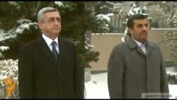 Հայաստան էր ժամանել Իրանի նախագահը