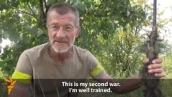 Retired Sniper Rejoins Ukrainian Forces