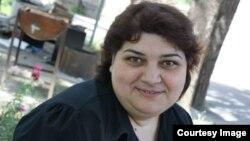 Әзербайжандық журналист Хадиджа Исмайыл.