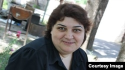 Azerbaijan. Baku. Journalist Khadija Ismayilova