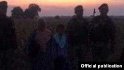 Гражданка Таджикистана и ее сын были задержаны поздним вечером