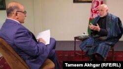 آقای کرزی روز یکشنبه «۱۵ ثور ۱۳۹۸» در یک مصاحبه اختصاصی با رادیو آزادی