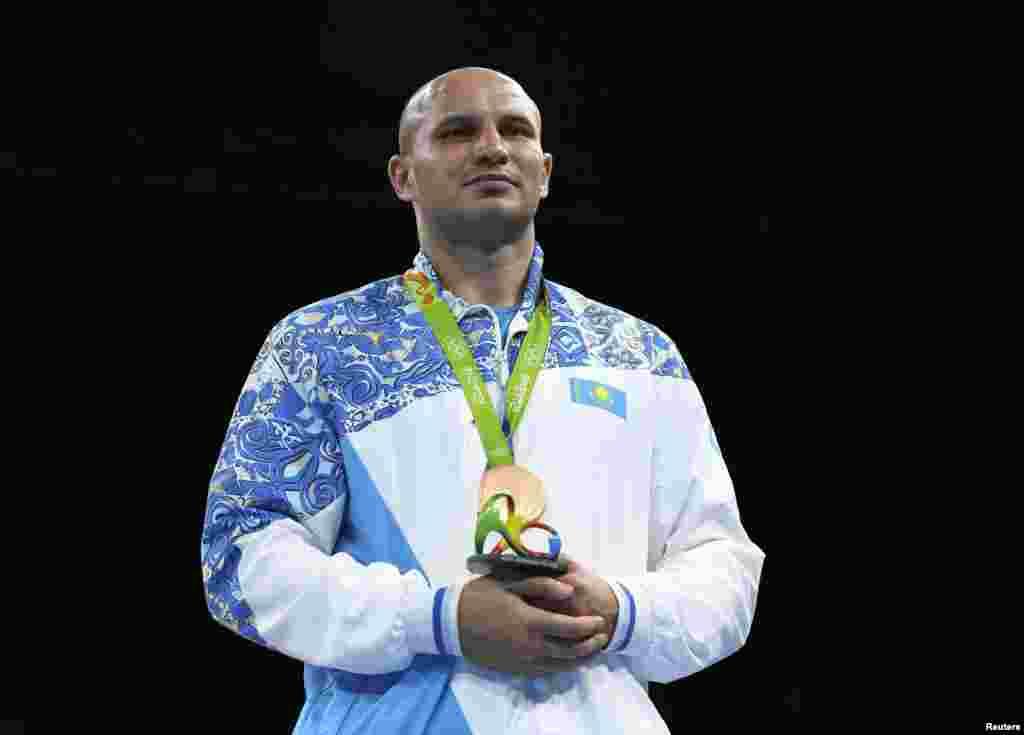 Бокстан Иван Дычко (ауыр салмақ, +91) Рио олимпиадасында қола жүлде иеленді. Ол Лондонда да осы жүлдені алған.