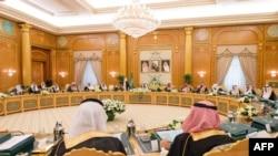 تصویری از کابینه عربستان سعودی