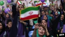 Women constituted a large part of Hassan Rouhani's support during the May 2017 presidential presidential campaign.
