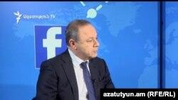 Министр здравоохранения Левон Алтунян (архив)