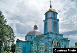 Свято-Успенский храм в селе Птичья