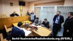 Суд обирає запобіжний захід активісту Майдану Івану Бубенчику. Київ, 3 квітня 2018 року