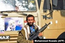 Повстанец-хусит, участвовавший в атаке и убийстве Али Абдаллы Салеха. 4 декабря 2017 года