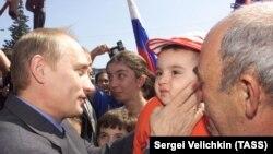 Владимир Путин, Налчик, соли 2001