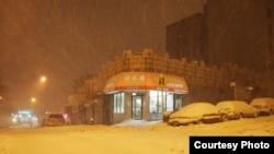برف و کولاک در نیویورک