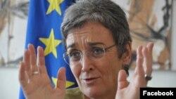 Ulrike Lunaček, izvestilac Evropskog parlamenta za Kosovo
