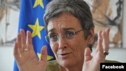 Ulrike Lunacek, zëvendës presidente e Parlamentit Evropian dhe njëkohësisht raportuese për Kosovën